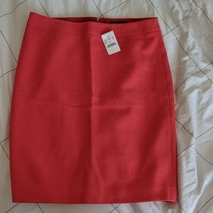 J. Crew Factory Pencil Skirt in Double-Serge Wool